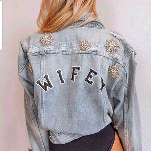 Wifey Denim Jacket Chosen by One Day